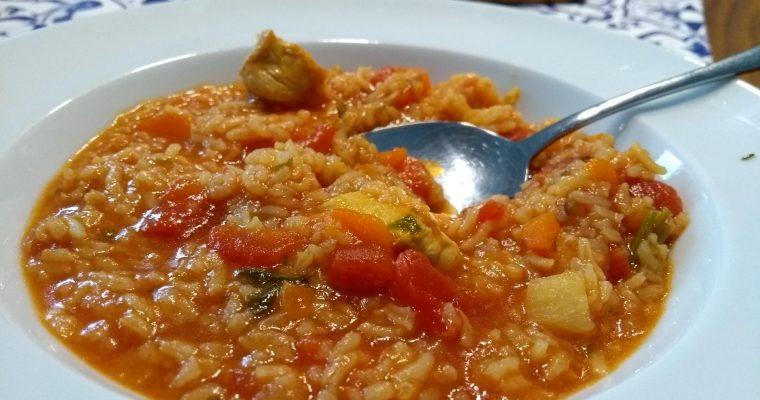 Tomaten-Hähncheneintopf